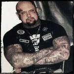 Weste der Bruderschaft Garde 20 bzw. Turonen. Markus Blasche, Angeklagter im Ballstädt-Prozess